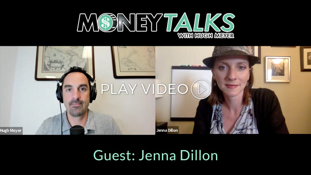 Jenna Dillon on Money Talks Podcast